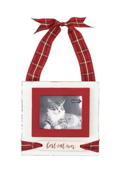 Mud Pie Cat Tartan Frame - Product Mini Image