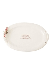 Mud Pie Celebrate Platter - Product Mini Image