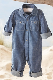 Mud Pie Chambray One Piece - Product Mini Image