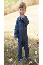 Mud Pie Chambray One-Piece Convertible - Product Mini Image