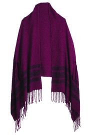 Mud Pie Chenille Scarf Wrap - Product Mini Image
