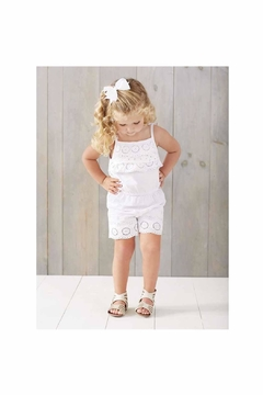 Shoptiques Product: Children's Eyelet Romper