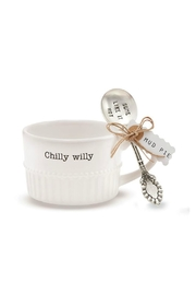 Mud Pie Chilly Willy Soup Set - Front full body