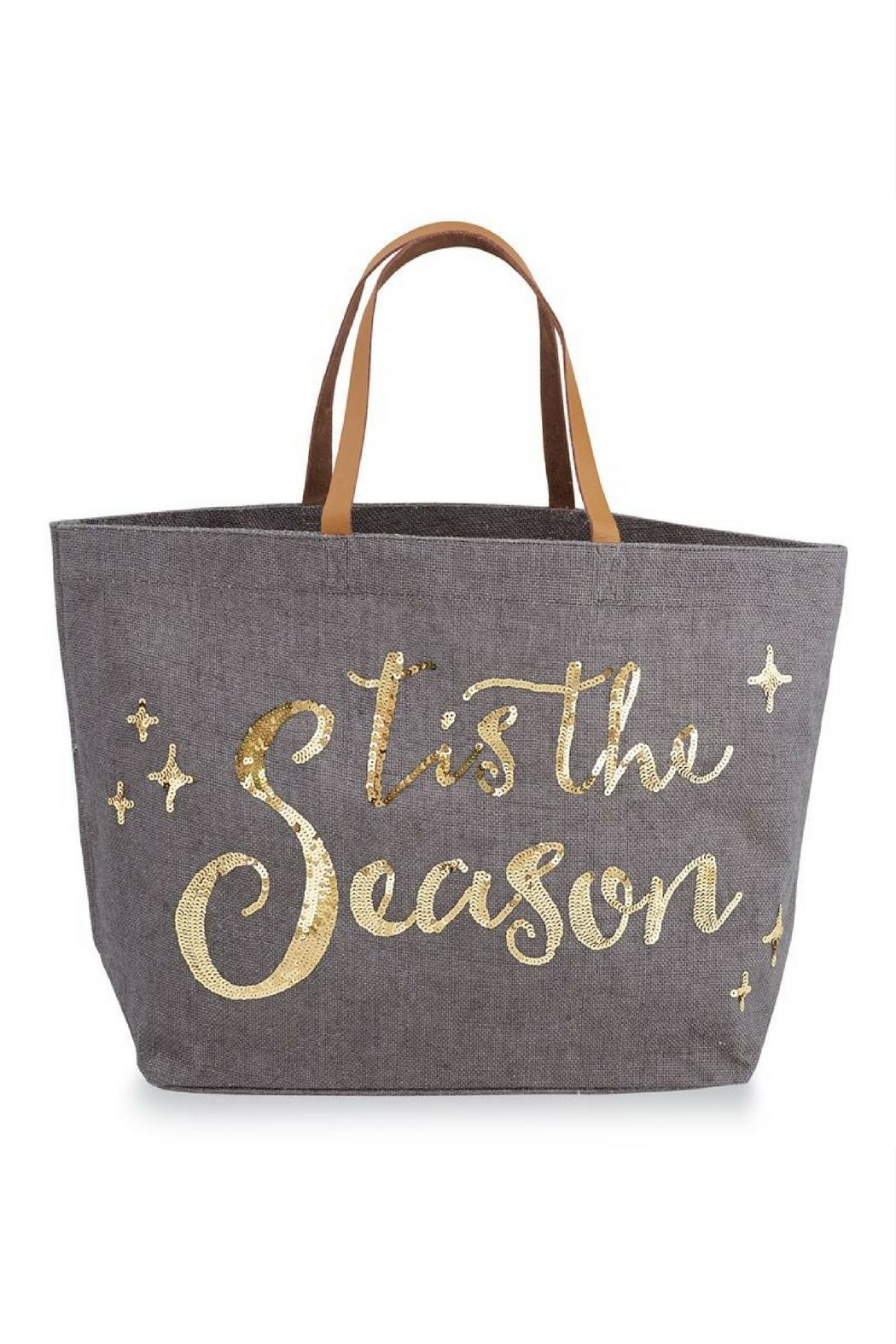 fe854fe865 Mud Pie Christmas Tote Bag from Florida by The Pink Chalet — Shoptiques