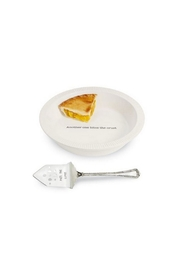 Mud Pie Circa Pie Plate - Front cropped