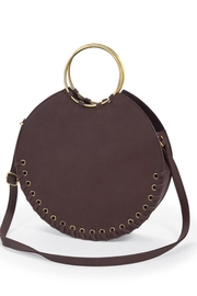 Mud Pie Circular Tote - Front cropped
