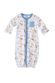 Mud Pie Convertible Baby Gown - Product Mini Image