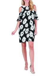 Mud Pie Cora Cold-Shoulder Dress - Product Mini Image
