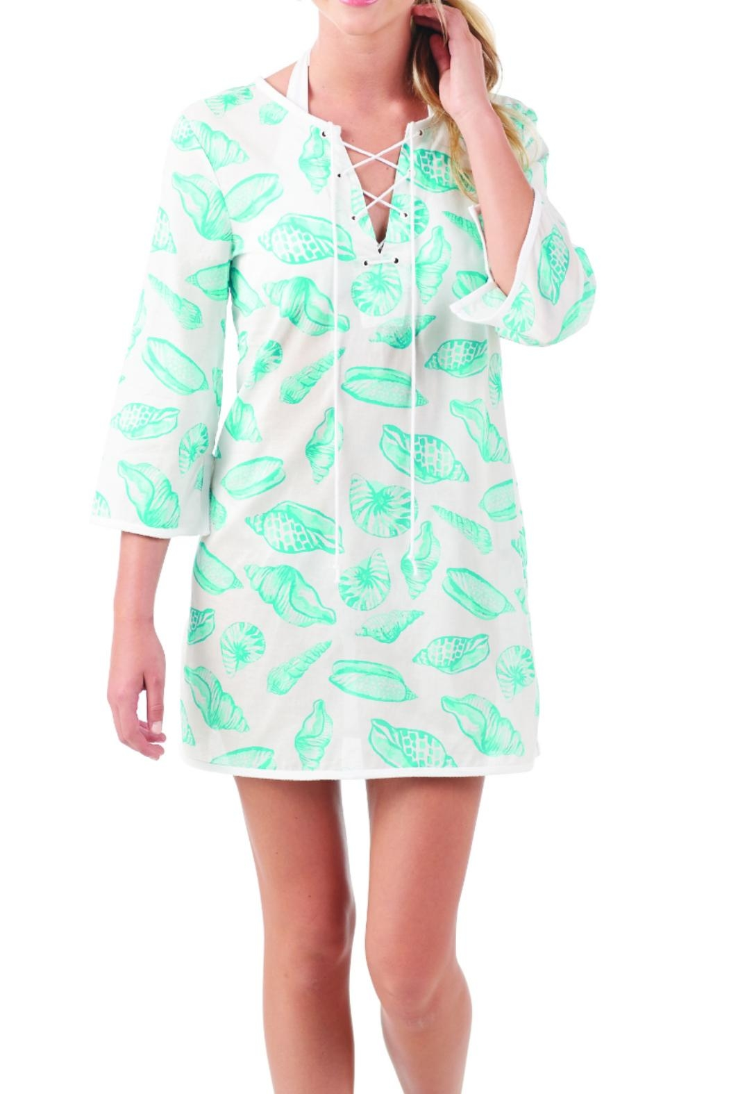 Mud Pie Cotton Tunic/cover-Up - Main Image