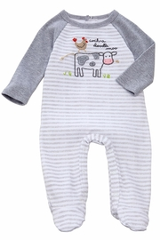 Mud Pie Cow & Rooster Footed Sleepwear - Product Mini Image