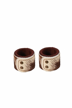 Shoptiques Product: Cowhide Napking Rings