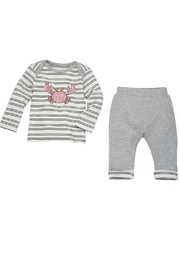 Mud Pie Crab 2pc Set - Front cropped