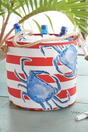 Mud Pie Crab Party Bucket - Front cropped