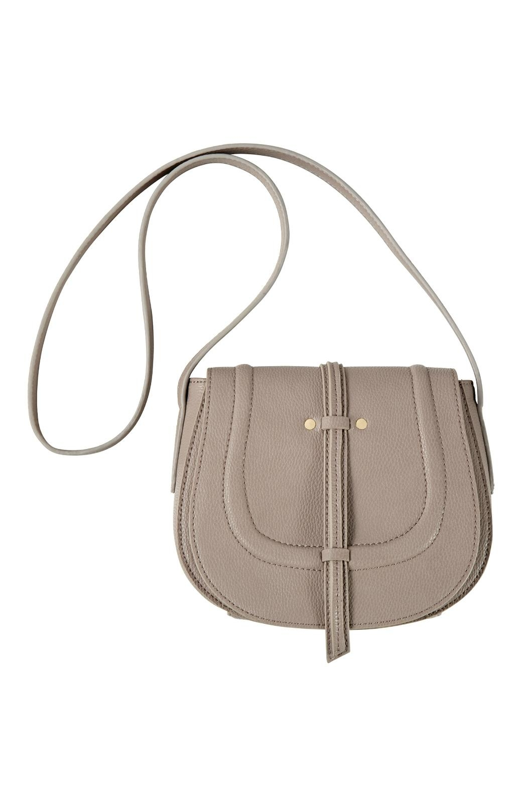 Mud Pie Cross Body Saddle Bag - Front Cropped Image