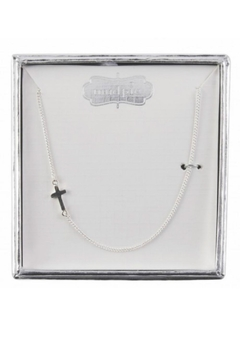 Shoptiques Product: Cross Charm Necklace