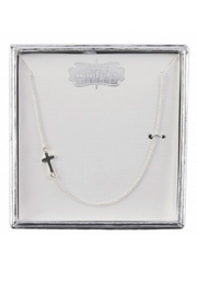 Mud Pie Cross Charm Necklace - Product Mini Image