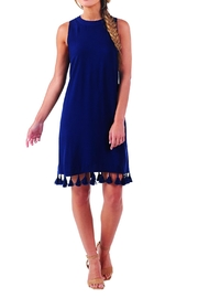 Mud Pie Cruz Tassel Dress - Product Mini Image
