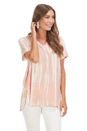 Mud Pie Dani T-Shirt Blush - Front full body