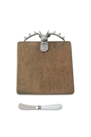 Mud Pie Deer Serving Board - Front cropped
