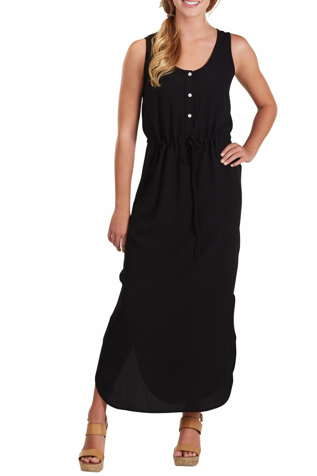 Mud Pie Derby Maxi Dress - Front Cropped Image