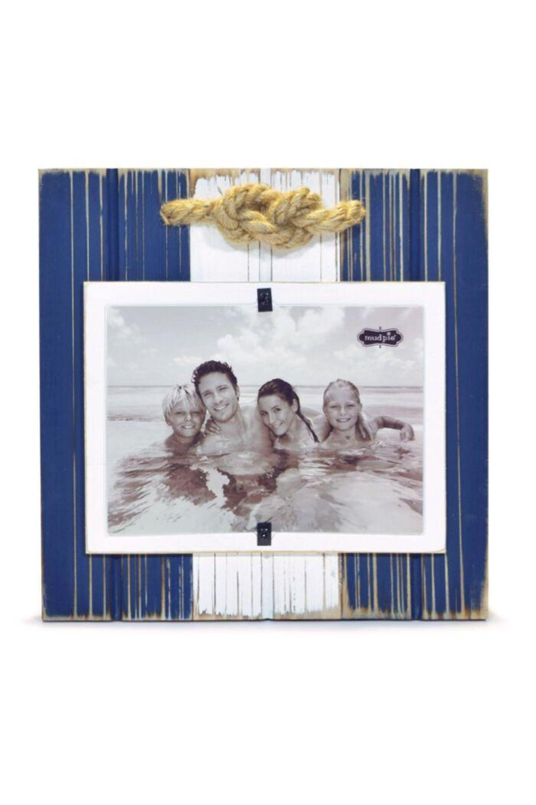 Mud Pie Distressed Wooden Frame - Main Image