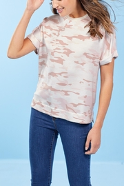 Mud Pie Dixon T-Shirt-Blush Camo - Product Mini Image