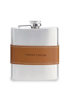 Shoptiques Product: Drink Local Flask