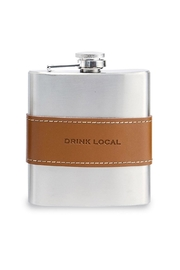 Mud Pie Drink Local Flask - Front cropped