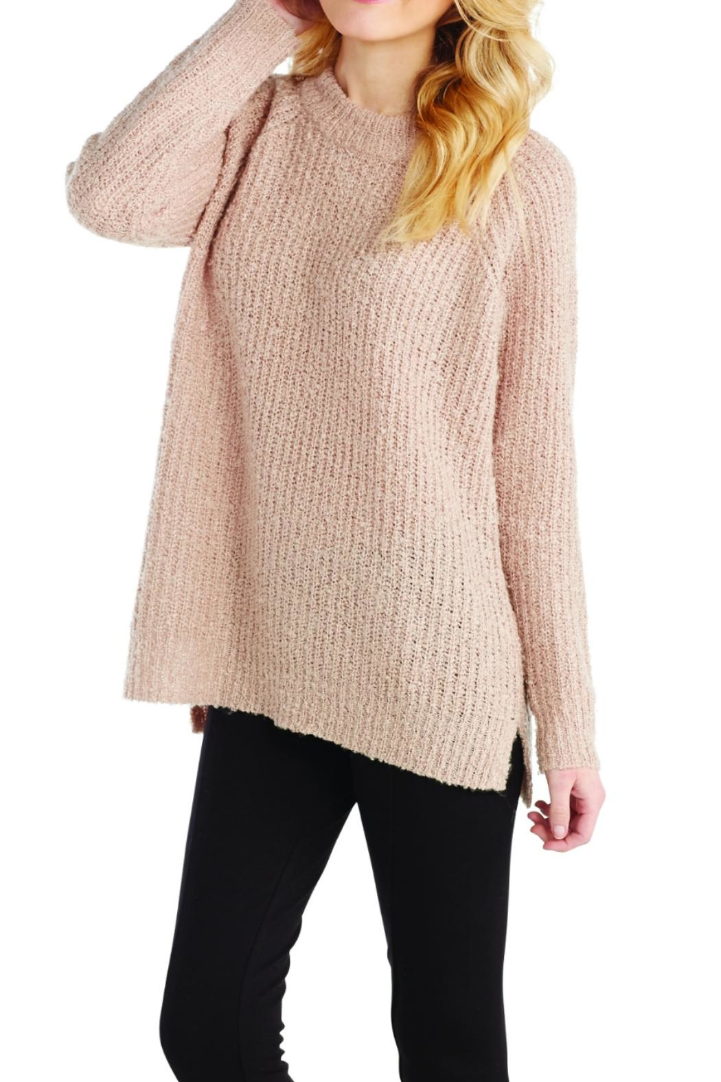 Mud Pie Dusty Rose Pullover - Main Image