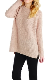 Mud Pie Dusty Rose Pullover - Front cropped