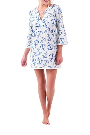 Mud Pie Easton Tunic Cover-Up - Front cropped