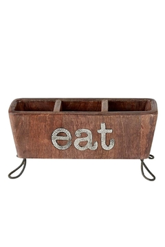 Mud Pie Eat Utensil Caddy - Product List Image