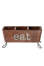 Mud Pie Eat Utensil Caddy - Product Mini Image