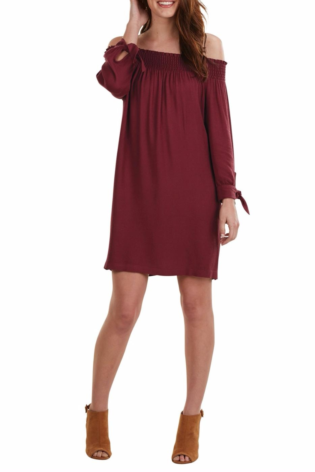 Mud Pie Elle Off Shoulder Dress - Main Image