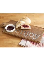 Mud Pie Enjoy Cutting Board - Front full body