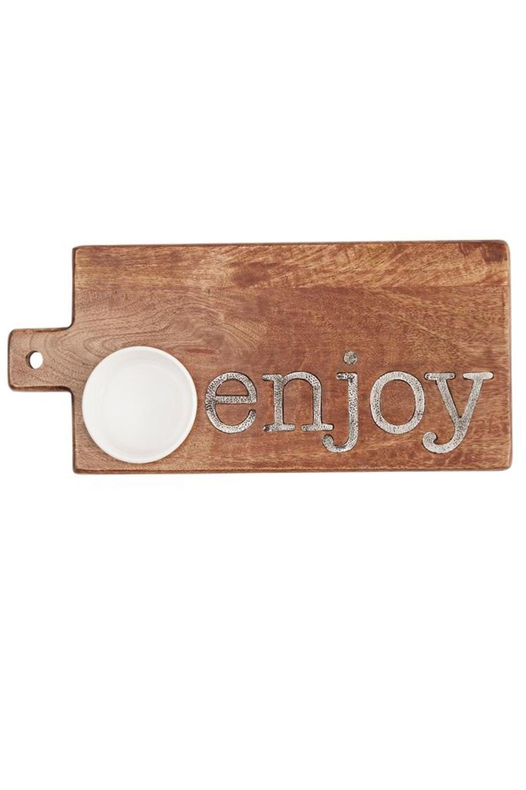 Mud Pie Enjoy Cutting Board - Main Image