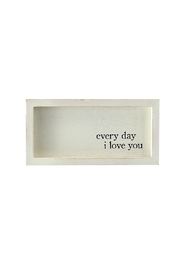 Mud Pie Every Day Love Plaque - Product Mini Image