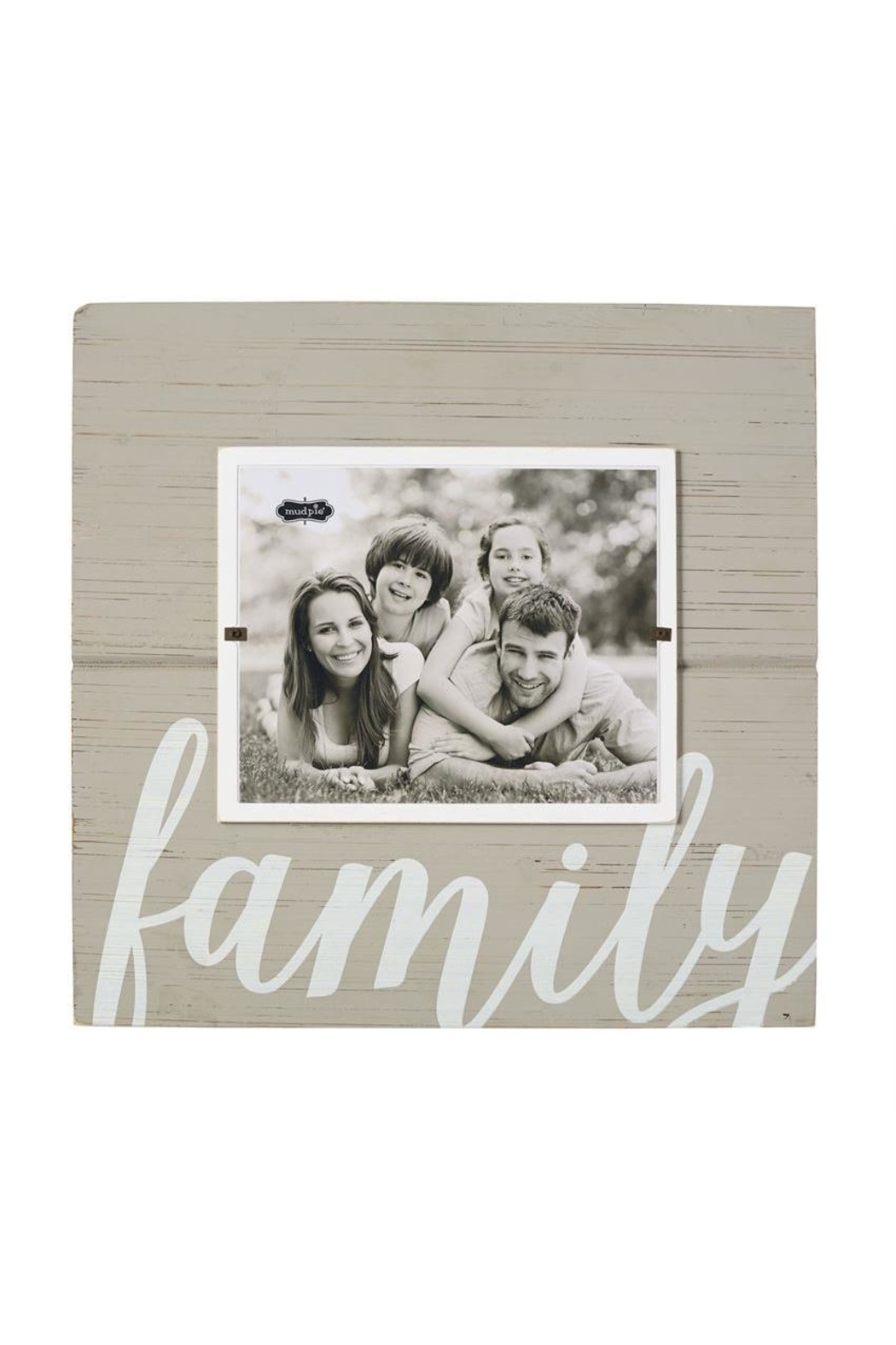 Mud Pie Family Frame - Front Cropped Image