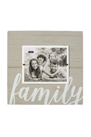Mud Pie Family Frame - Front cropped