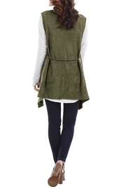 Mud Pie Faux Suede Vest - Front full body