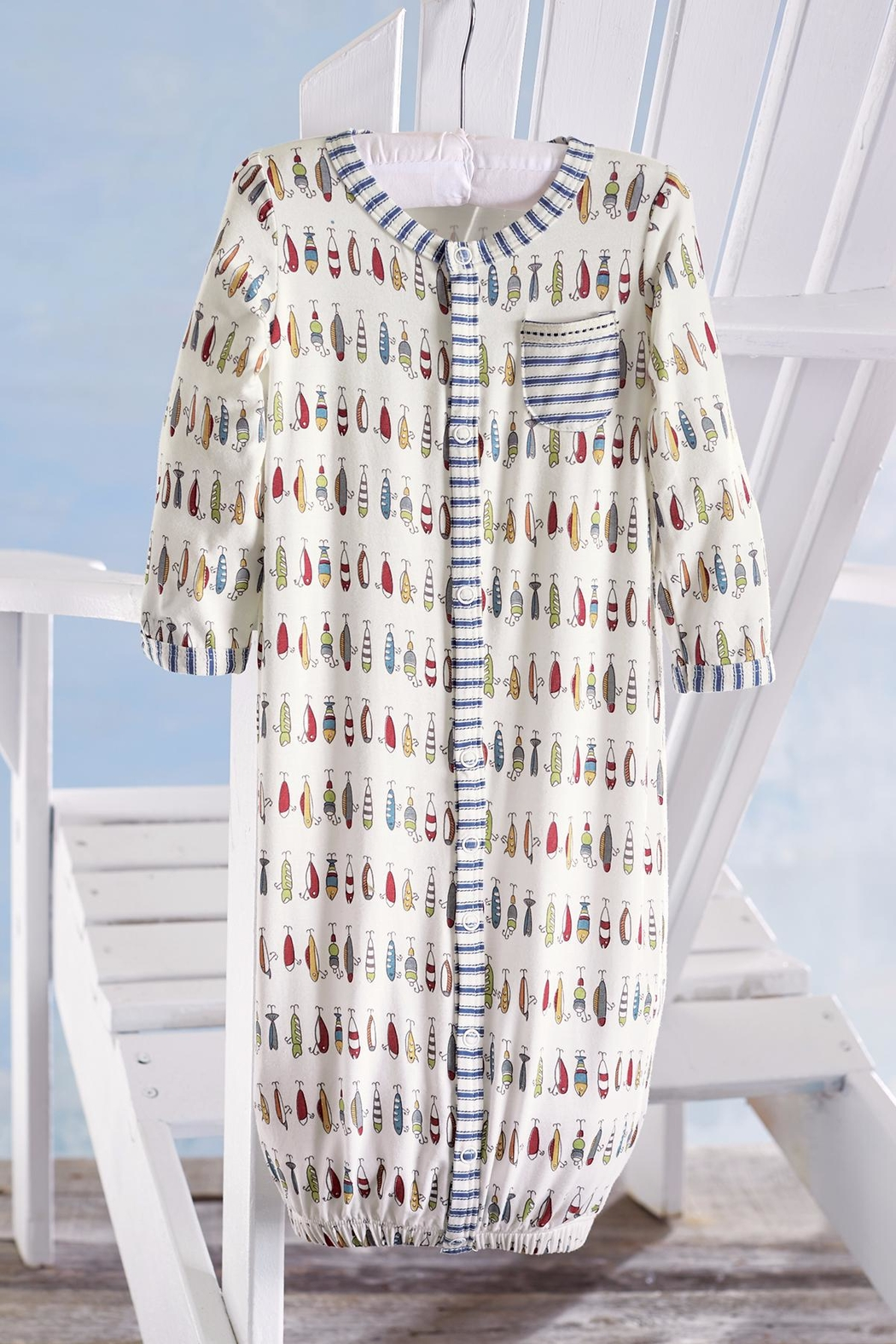 Mud Pie Fish Convertible Gown from Louisiana by The Gift Pod ...
