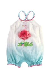 Mud Pie Flamingo Bubble - Front cropped