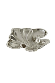 Mud Pie Fleur-De-Lis Metal Dish - Product Mini Image