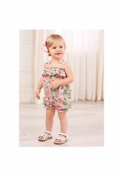 Shoptiques Product: Floral Bubble Romper