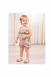 Mud Pie Floral Bubble Romper - Product Mini Image