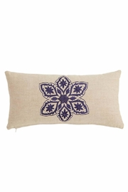 Mud Pie Florese Lumbar Pillow - Product Mini Image