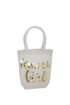 Mud Pie Flower Girl Tote - Product List Image