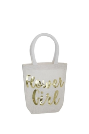 Mud Pie Flower Girl Tote - Front cropped