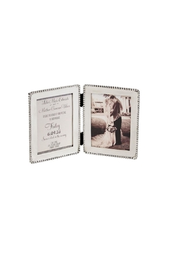 Mud Pie Folding Wedding Frame - Alternate List Image