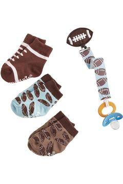 Mud Pie Football Sock Set - Alternate List Image